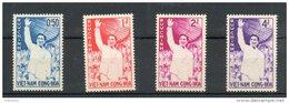 Vietnam Du Sud. Reinvestiture Du Président Noc Din Diem. Serie Complete - Viêt-Nam