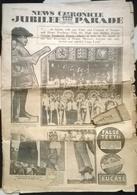 News Chronicle Jubilee Parade 25 April 1935. Très Abimé - Revues & Journaux