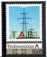 Turkmenistan.2018 Industry TAPI (Pakistan ,India ,Afghanistan ). 1v: A - Turkménistan