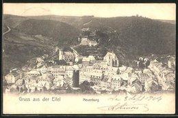 AK Neuerburg / Eifel, Ortsansicht Mit Bergen - Allemagne