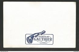 BUVARD CHAMPAGNE GAUTHIER à EPERNAY - Liqueur & Bière