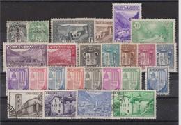 ANDORRE FRANCAIS 1931-1967:  Joli Lot De Timbres, Neufs Et Oblitérés (3 Scans) - Andorre Français