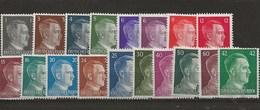 Lot Effigie Hitler - Unused Stamps
