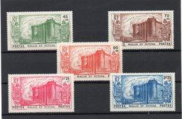 !!! PRIX FIXE : WALLIS ET FUTUNA, SERIE BASTILLE N°72/76 NEUVE ** - Wallis And Futuna