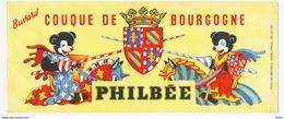 BUVARD PAIN D'EPICE PHILBEE COUQUE DE BOURGOGNE - Alimentaire