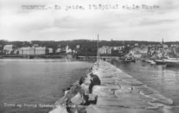 PIE-SDV-18-7818 :  TROMSOE.  TROMS OG TROMSO SYKEHUS OG TROMSO MUSEUM. - Norvège