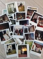 LOT DE 29 PHOTOS POLAROÏD 1979 DIVERSES DE FAMILLE - Anonyme Personen