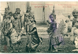 CAMBODGE - INDOCHINE - Phnom Pehn : Danseuses Du Roi ... - Cambodia