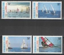 Côte D'Ivoire - YT PA 113-116 ** - 1987 - Sports - Voile - Sailing - Côte D'Ivoire (1960-...)
