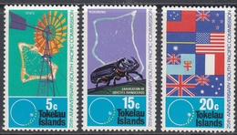 Tokelau 1972 - 25th Anniversary Of South Pacific Commission - Part Set Mi 26, 28-29 ** MNH - Tokelau