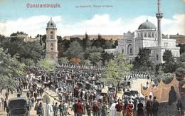 PIE-SDV-18-7820 : CONSTANTINOPLE. LE SELAMLIK. REVUE MILITAIRE. - Turquie