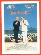 CINEMA-CARTOLINA MANIFESTO FILM-DUE FIGLI DI..-STEVE MARTIN-MICHAEL CAINE-GLENNE HEADLY-BARBARA HARRIS - Manifesti Su Carta