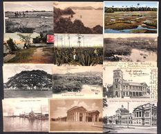 Trinidad BWI Caribbean Island 27 Vintage Postcards - Cartes Postales