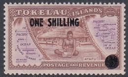 Tokelau 1956 - Definitive Stamp Surcharged: Native - Mi 5 ** MNH - Tokelau