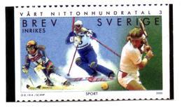 SWEDEN SUEDE 2000 - BREV Official Photo Officielle - Ski - Tennis Esquí Sport - Ski