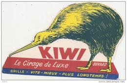 BUVARD --- Le Cirage De Luxe KIWI (buvard Forme Découpe) - Chaussures