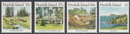 Norfolk Island 1987 - Definitive Stamps Issued On 27.7.1987: Landscapes - Mi 405,407,410,415 ** MNH - Norfolk Island