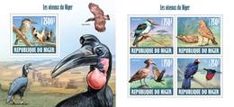 Niger 2013, Animals, Birds Of Niger, 4val In BF+BF - Niger (1960-...)
