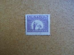 Lituanie - Timbre N° 57 (YT) Neuf, Gomme Altérée - Lithuania