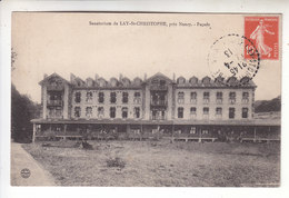Sp- 54 - LAY SAINT CHRISTOPHE - Sanatorium - Facade - Timbre - Cachet - 1913 - France