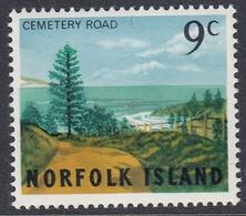 Norfolk Island 1966 - Definitive Stamp: Cemetery Road - Mi 75 ** MNH - Norfolk Island