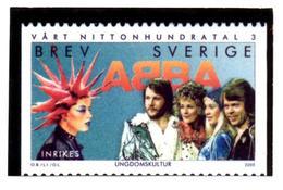 SWEDEN SUEDE 2000 - BREV Official Photo Officielle - ABBA Chanson Song Swedish Pop Group Music Musique - Musique