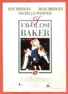 CINEMA-CARTOLINA MANIFESTO FILM-I FAVOLOSI BAKER-JEFF BRIDGES-BEAU BRIDGES-MICHELLE PFEIFFER - Manifesti Su Carta