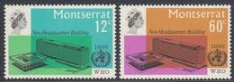 Montserrat 1966 - New Headquarters Building Of WHO - Mi 183-184 ** MNH - Montserrat