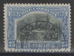 Chili - YT 79 Oblitéré - 1910 - Chili