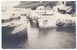 Cpa Carte-photo Port Des Pêcheurs, Passe Des Canots , Biarritz  ( 64 ) - Biarritz