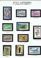 ETAT COMORIEN-TIMBRES NEUFS-2 SCANS- - Comores (1975-...)