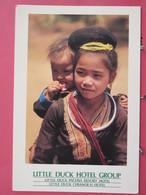 Thaïlande - Little Duck Hotel - Chiangrai - Pattaya - Scans Recto Verso - Thaïlande