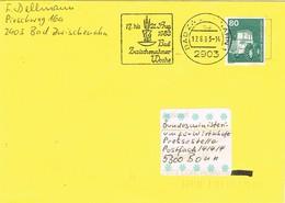 30746. Carta BAD ZWISCHENAHN (Aklemania Federal) 1983. Zwischenahner Woche - [7] República Federal