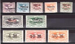 Haute-Silésie - Lot De Timbres Plébiscite 1921 - Neufs * - Cote + 80 - Timbres