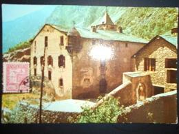 Andorre Espagnol Carte Maximun , Andorra La Vieja 1958 Casa De La Vall - Andorre Espagnol