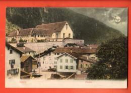 TRH-20 Näfels  Dorf Und Kloster. Gelaufen 1916 - GL Glaris