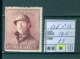 178 X Côte 170€ - 1919-1920 Trench Helmet