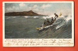 TRH-19 Natives Surfing, Honolulu. Pionier. Used In 1908 - Honolulu
