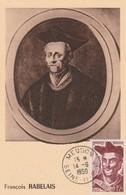 CARTE MAXIMUM - RABELAIS - 1950 - Maximum Cards