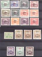 Silésie Orientale - 1920 - Lot De Timbres Neufs * - Cote 40 - Silezië (Opper- En Neder-)