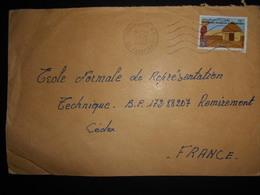 Mauritanie , Lettre De Nouakchott 1983 Pour Remiremont - Mauritania (1960-...)