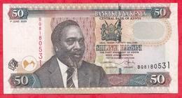 Kenya-- 50 Shillings 01/06/2005 ----XF/SUP+ - Kenya