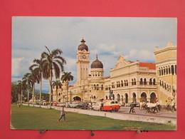 Visuel Pas Très Courant - Malaisie - Kuala Lumpur - Federal Secretariat Building - Jolis Timbres - Scans Recto Verso - Malaysia