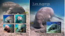 Niger 2013, Animals, Dugongs, 4val In BF+BF - Niger (1960-...)