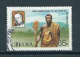 1980 Ghana Rowland Hill Used/gebruikt/oblitere - Ghana (1957-...)