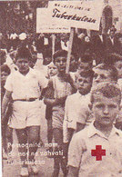 Yugoslavia Label Stamp Red Cross TBC Tuberculosis Fight - Liefdadigheid