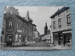 Cpa Fontaine-l'évêque Rue De L'indépendance Magasin - Fontaine-l'Evêque