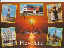 Flevoland - O.a. De Meerpaal  [AA31-2.881  - Gelopen Met Postzegel - Pays-Bas