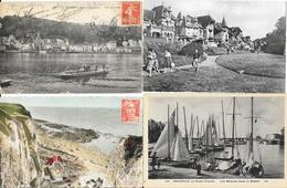 Lot N° 70 De 100 CPA Département Seine Maritime (76) - Villes, Villages, Plages, Petites Animations - Cartes Postales