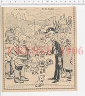 Presse 1906 Humour Habit De Prefet Echarpe De Maire  223CHV3 - Vieux Papiers